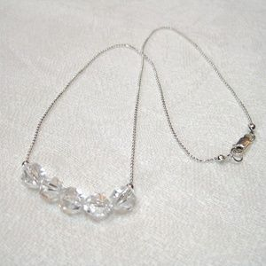 Jewelry - Star Cut Rock Crystal Necklace